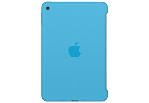 Чехол Apple Silicone для iPad mini 4 голубой