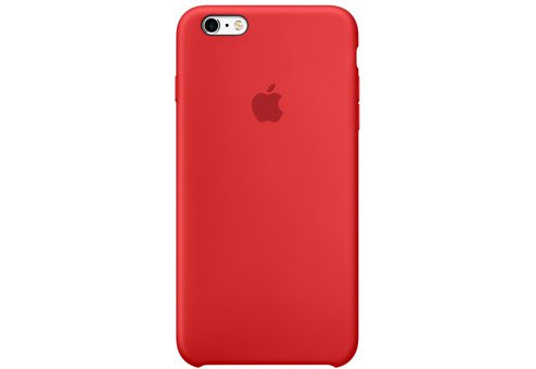 Чехол Apple Silicone Case для iPhone 6/6s Plus (PRODUCT)RED
