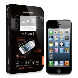 iPhone 5 Screen Protector GLAS.tR Premium Tempered Glass