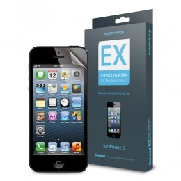 iPhone 5 Screen and Body Protector Set Steinheil EX Ultra Crystal Mix
