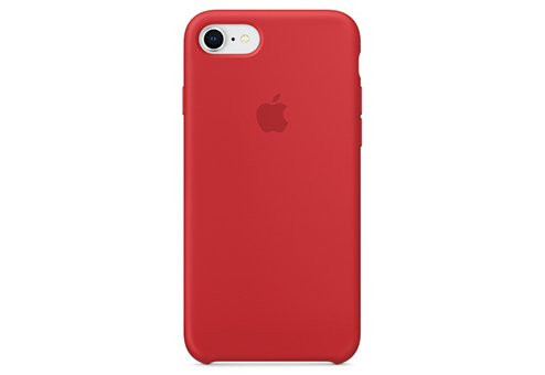 Чехол Apple Silicone Case для iPhone 8/7 (PRODUCT)RED
