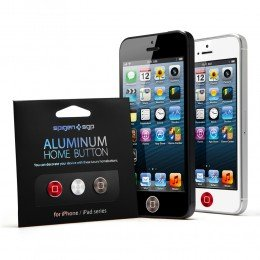 Aluminum home button for iPhone & iPad