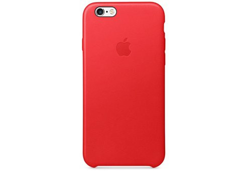 Чехол Apple Leather Case для iPhone 6/6s (PRODUCT)RED