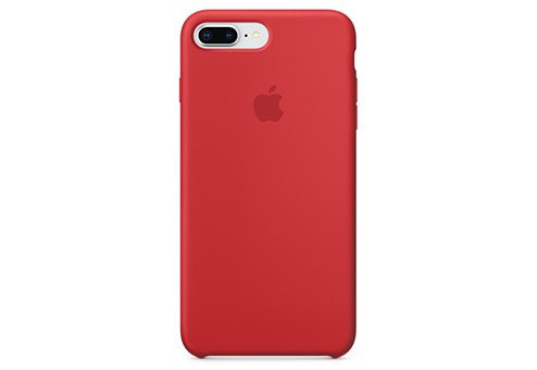 Чехол Apple Silicone Case для iPhone 8/7 Plus (PRODUCT)RED