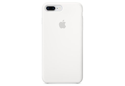 Чехол Apple Silicone Case для iPhone 8/7 Plus белый