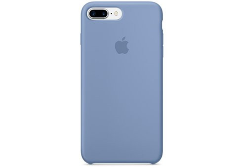 Чехол Apple Silicone Case для iPhone 8/7 Plus лазурный