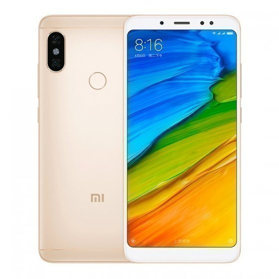 Xiaomi Redmi Note 5 AI Dual Camera 64GB/6GB Gold (Золотой)