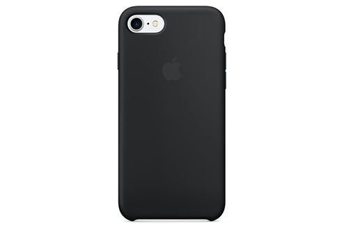Чехол Apple Silicone Case для iPhone 8/7 черный