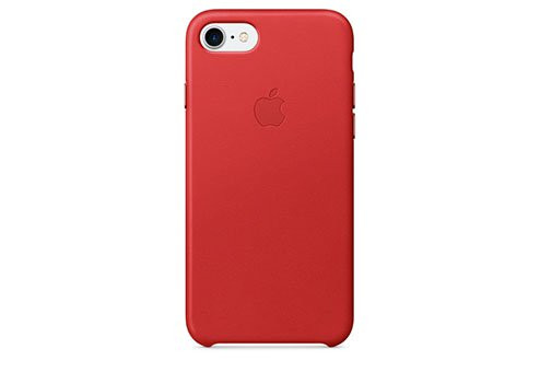Чехол Apple Leather Case для iPhone 8/7 (PRODUCT)RED