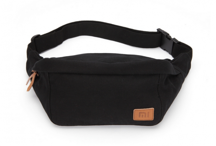 Xiaomi Mi Simple Canvas Waist Bag (Black)