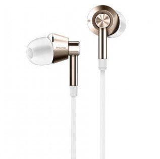 Xiaomi Mi 1More Dual Driver In-Ear Headphones (White/Gold)