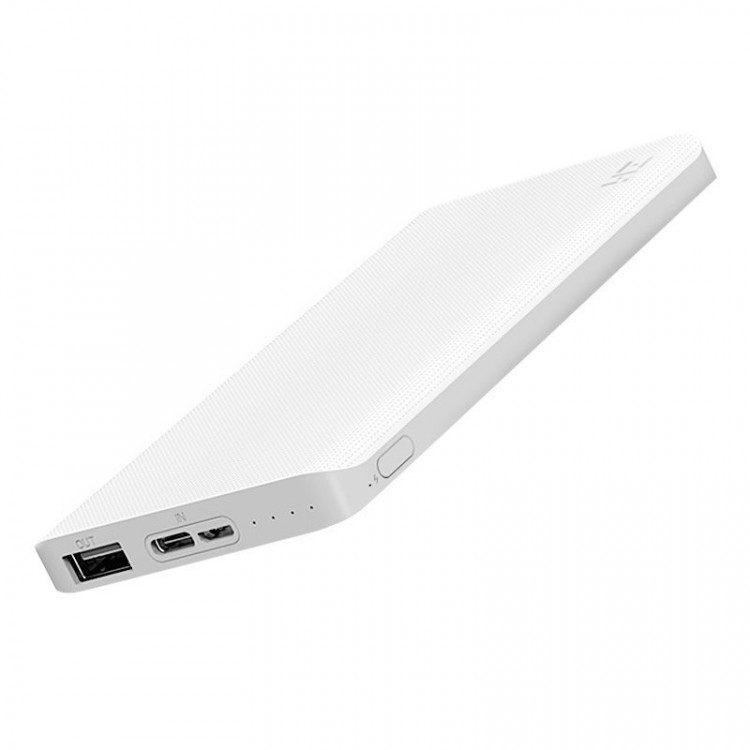 Xiaomi Mi Power Bank ZMI 10000 mAh Bidirectional (White)