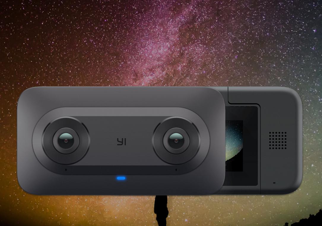 Купить Xiaomi Yi Horizon VR180 Camera (Black) по цене 0 руб