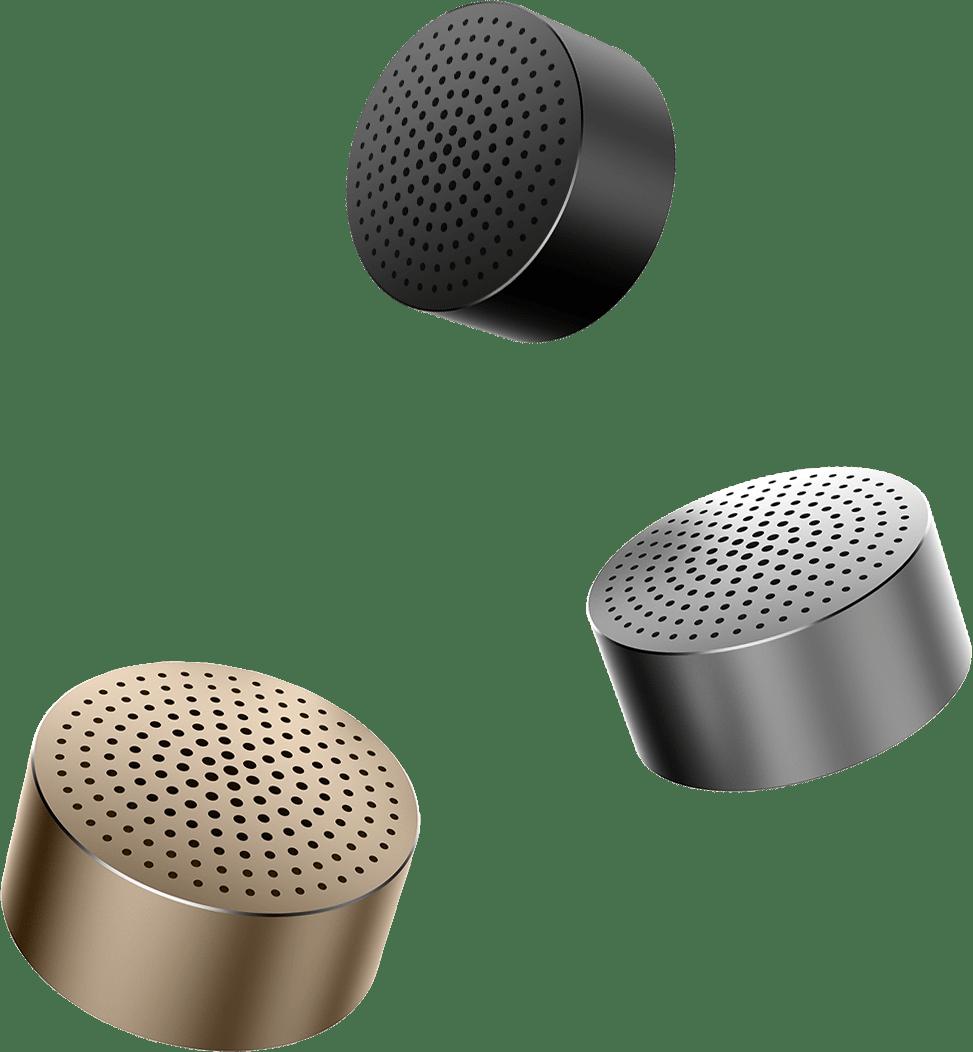 Колонка Xiaomi Mi Cannon Little Audio (Portable Round Box) Silver